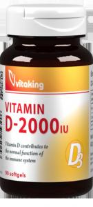 Vitaking d-2000 lágyzselé kapszula
