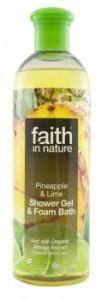 ananasz-lime tusfürdő