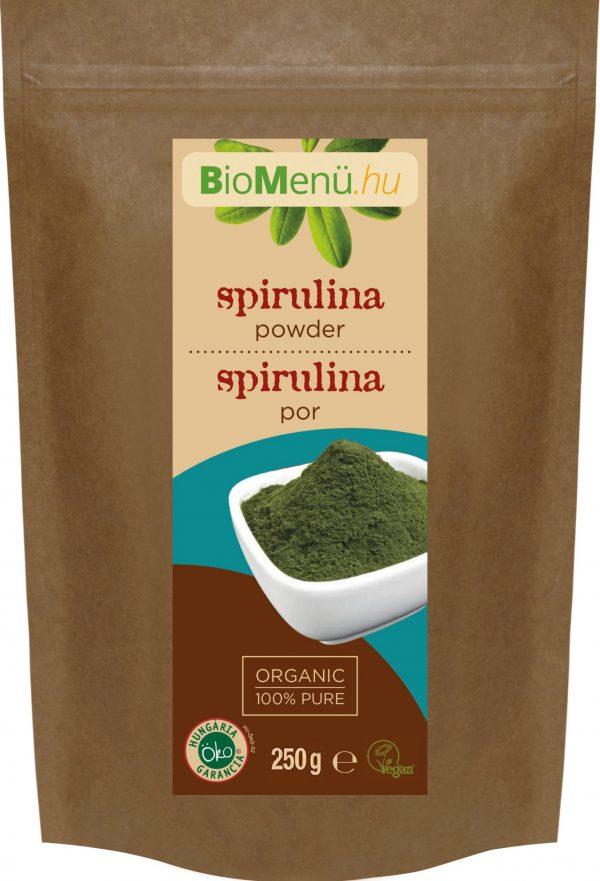 BioMenü BIO SPIRULINA por (250 gr)