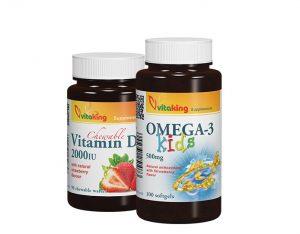 Omega kids és gyerek D-vitamin