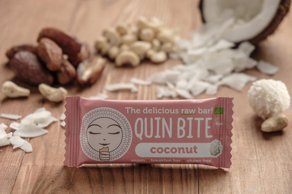 Bio Quin Bite Nyers szelet – Kókusz