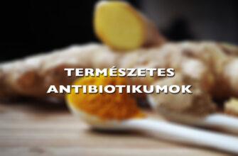 A hat legjobb természetes antibiotikum